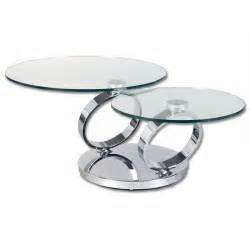 2 levels swivel glass coffee table buy glass