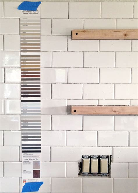 white subway tile grout subway tile installation tips on grouting with fusion