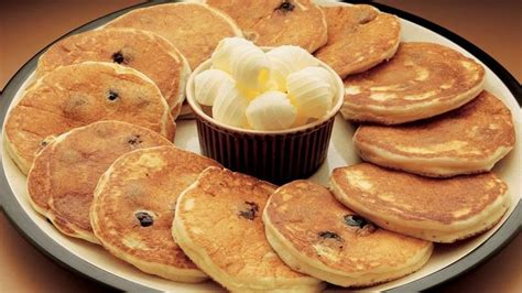 blueberry pancake recipe sour cream blueberry pancakes recipe from betty crocker