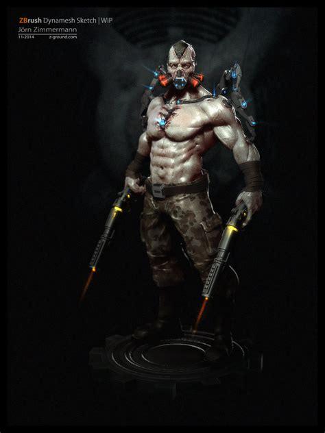 badass characters badass character design by joern zimmermann