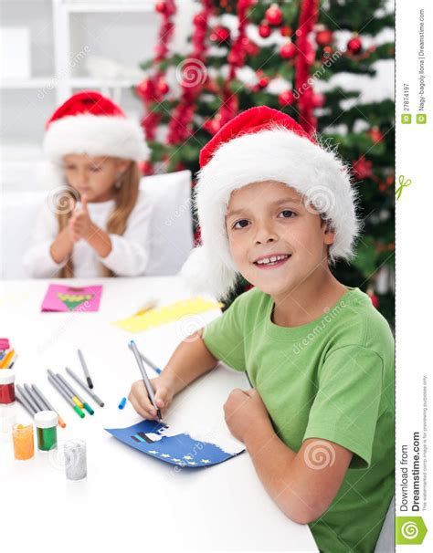 for kindergarteners to make greeting cards stock image image