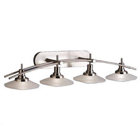 Ferguson Vanity Lighting Kk6464ni Structures 4 Or More Bulb Bathroom Lighting Brushed Nickel At Shop Ferguson