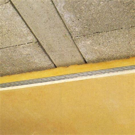 Isolation Plafond Garage Beton by Isolation D Un Plafond De Sous Sol En Hourdis