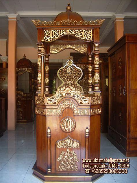 Ready Stok jual mimbar masjid ready stok jual mimbar jati harga