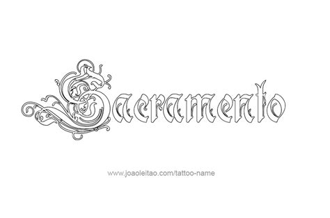 tattoo sacramento sacramento usa capital city name designs tattoos