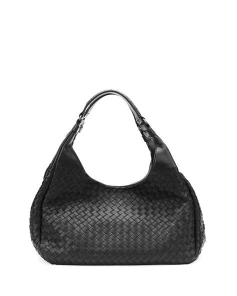 Bottega Veneta Vachette Medium Pouch Black bottega veneta medium woven napa hobo bag in black lyst