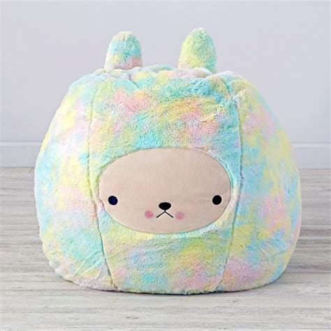 cute bean bag chairs bunny bean bag chair by bijou kitty super cute kawaii