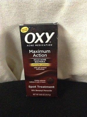 spot treatment peroxide oxy maximum spot treatment acne medication 10 benzoyl peroxide 0 65 oz for