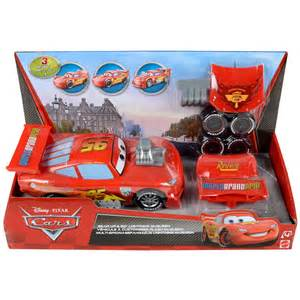 Lightning Mcqueen Car Racing Disney Pixar Cars Gear Up Go Lightning Mcqueen Race Car