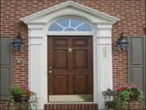 Exterior Front Door Molding Exterior Door Trim Kit Newsonair Org