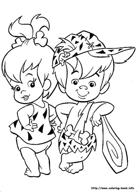 the flintstones coloring picture coloring for kid