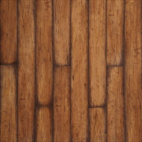 shop allen roth 4 92 in w x 3 97 ft l burnished autumn maple smooth laminate wood planks at