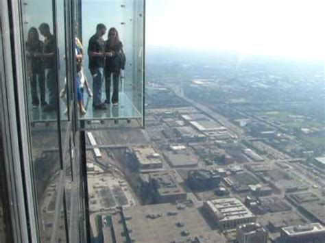 Glass Floor Building Chicago by Sears Tower Chicago Glass Box