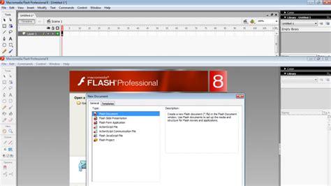 membuat gambar bergerak dengan flash 8 membuat animasi sederhana menggunakan macromedia flash 8