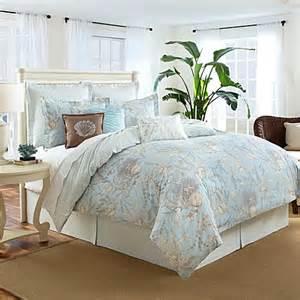 sea cottage 3 4 piece comforter set bed bath beyond