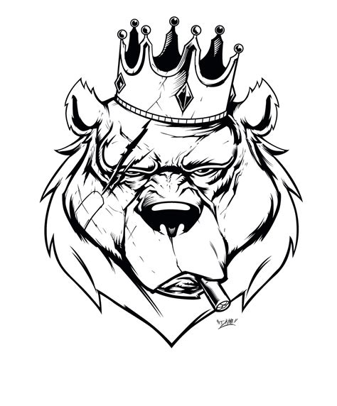 bear king on behance