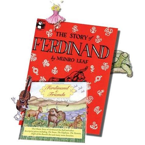 the of ferdinand books story of ferdinand book cd shar sharmusic