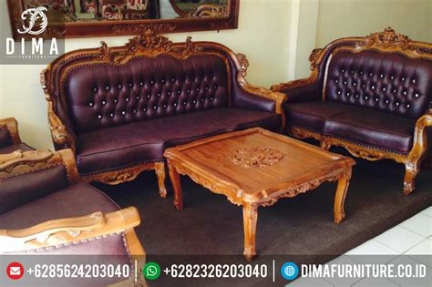 Sofa Tamu set sofa jati infosofa co