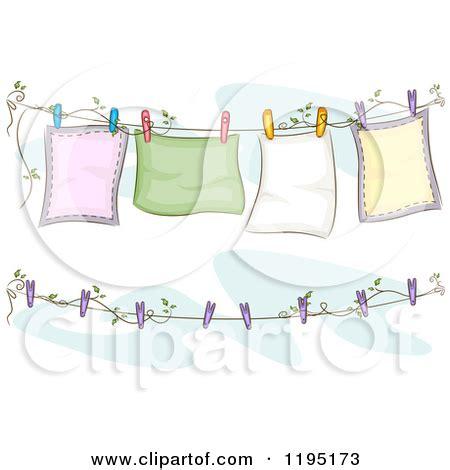 bettdecke gezeichnet clothes line free clipart