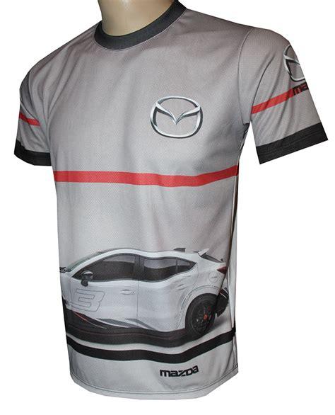 mazda  shirt  logo    printed picture  shirts   kind  auto moto