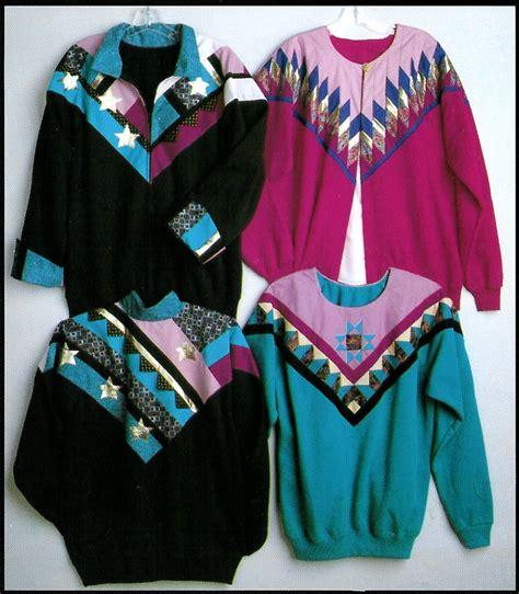 Seminole Patchwork Jacket - sweatshirt jacket quilting pattern evening seminole