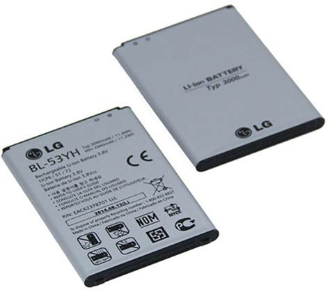 Battery Lg Bl 53yh Atau Lg G3 Stylus Original 100 battery for lg g3 d855 bl 53yh price review and buy in