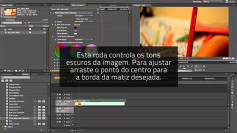 youtube tutorial adobe premiere pro cs5 adobe premiere pro cs5 corre 231 227 o de cor b 225 sica tutorial