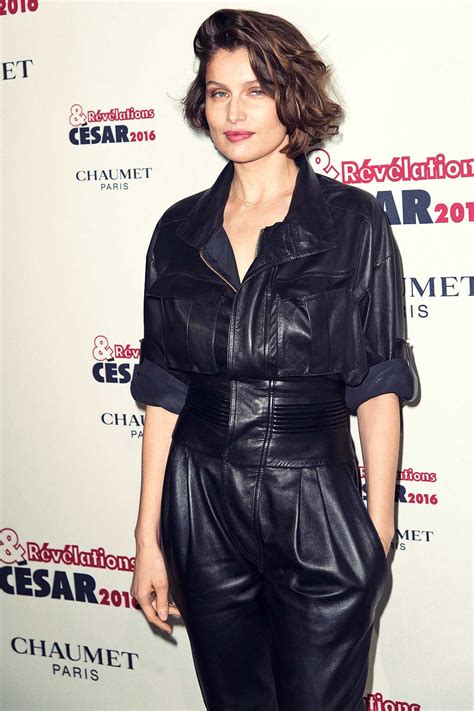 Annue Overall Black laetitia casta at r 233 v 233 lation cesar leather