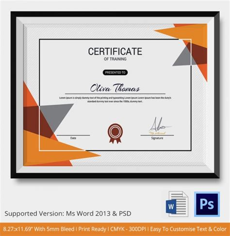 sle course completion certificate template computer course completion certificate format 17 images