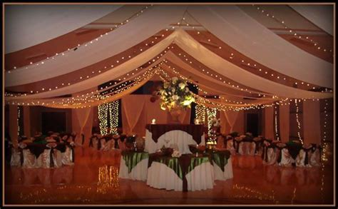 Super Elegant Cultural Hall Wedding Decorations   LDS