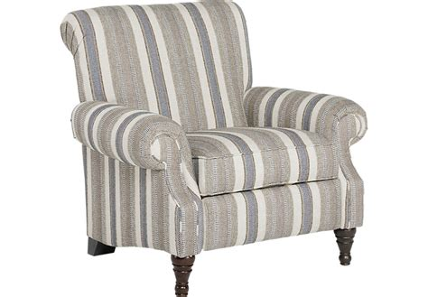 Accent Recliner Chair Piedmont Gray Accent Pushback Recliner Recliners Gray