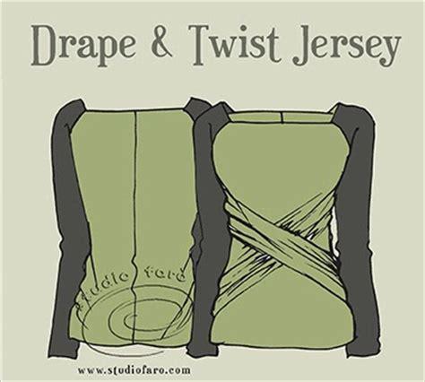 jersey twist pattern well suited pattern puzzle drape twist jersey