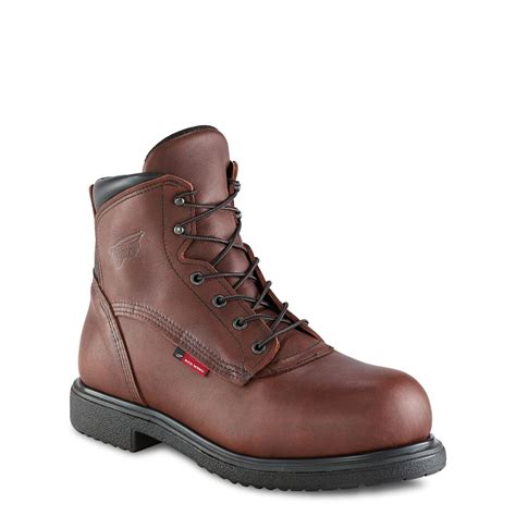mens redwing boots wing 3216 mens 6 inch safety boot ebay