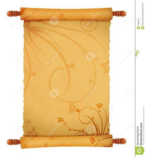 Parchment powerpoint template papel pergaminho antigo vetor de old scroll stock images image 4092014 toneelgroepblik Choice Image