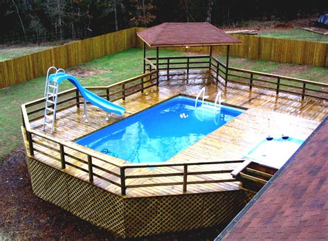 backyard landscaping above ground pool march 2016 my backyard ideas page 3 landscaping with