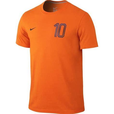 T Shirt Oranje Nederland Nike nike t shirt nederland sneijder 10 qt oranje www
