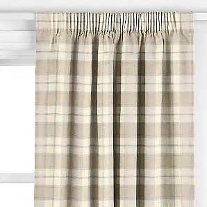 Harrow Blinds John Lewis Harrow Check Pencil Pleat Curtains Review