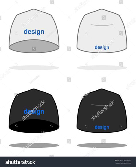 white beanie design template sle logos are easy to