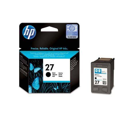 Tinta Printer Hp 27 Black Buy Hp 27 Black Ink Cartridge Free Delivery Currys