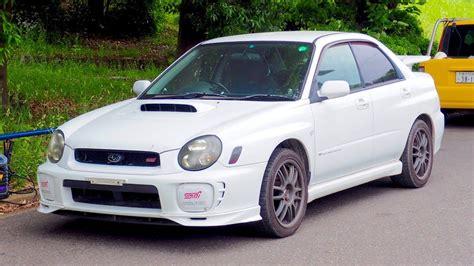 Subaru Wrx Sti 2002 by 2002 Subaru Impreza Wrx Review Auto Express