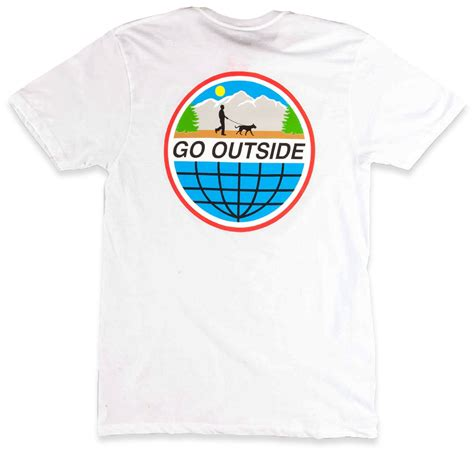 T Shirt I Will White Limited limited go outside t shirt white