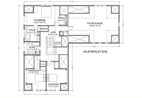 Cape Cod House Plan 3000 Square Foot House Plan | 3000 sq ft house plans with photos