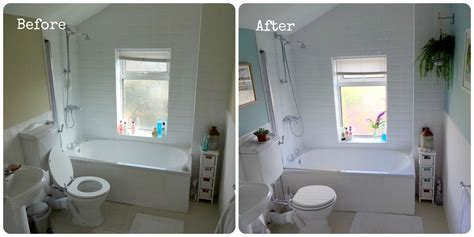 bathroom makeovers before and after bathroom makeover before after make do and mend