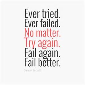 fail better fit t shirt quot tried failed no matter