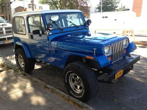 Find Used 1991 Jeep Wrangler Islander Sport Utility 2 Door