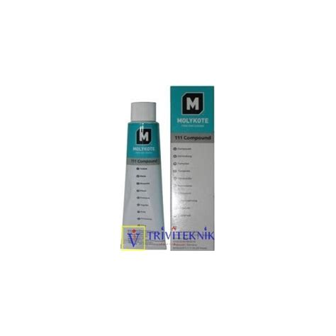 Faucet Lubricant by Valve Lubricant Sealant Molykote 111 Triviteknik