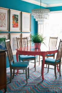 Painted Dining Room Table by Colorful Painted Dining Table Inspiration