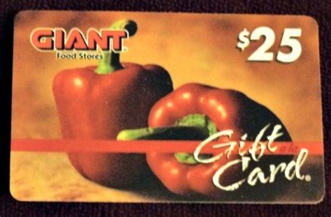 Giant Supermarket Gift Cards - giant food stores 25 gift card giveaway
