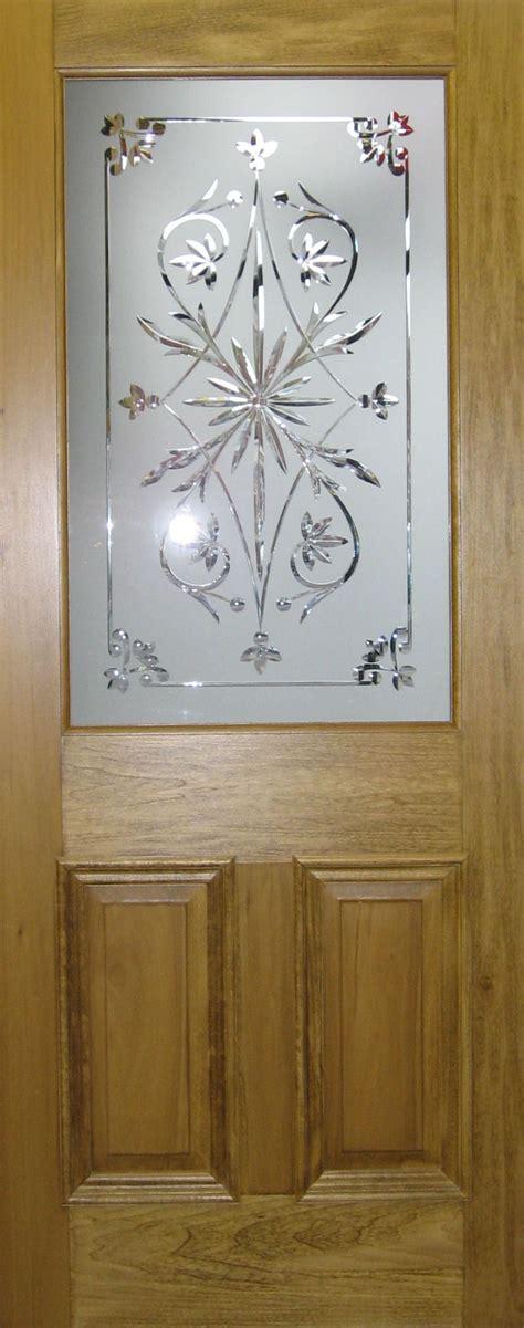 5 Panel Solid Door Cut Glass Doors
