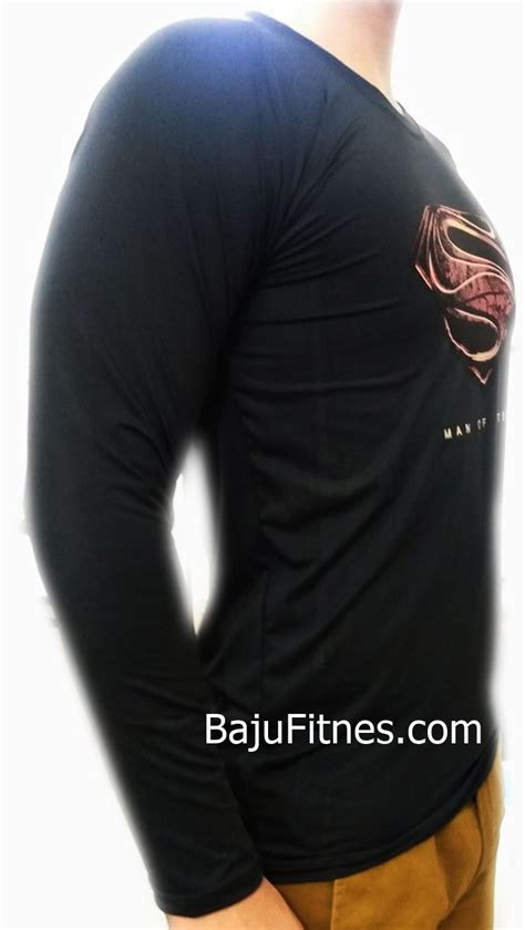Kaos Fitness Sublim Superman 2 089506541896 tri merek kaos bajufitnes